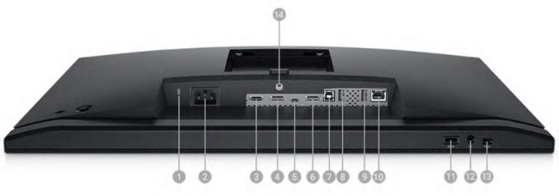 Dell C2422HE Portlar