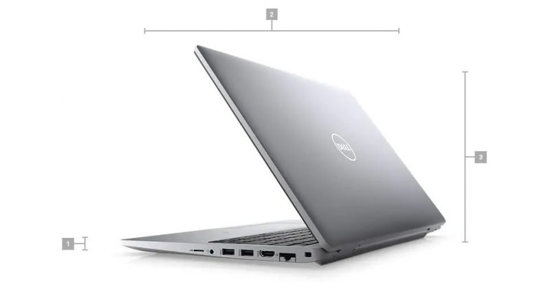 Dell Precision 3560 Boyutlar