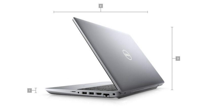 Dell Precision 3561 Boyutlar