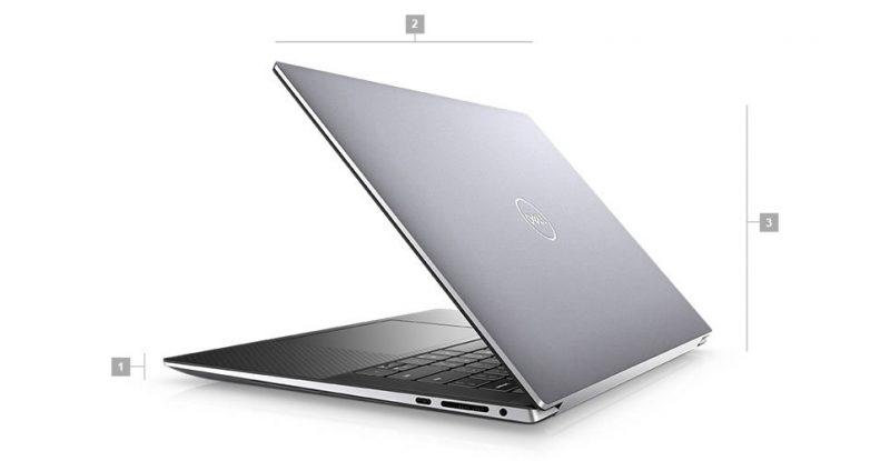 Dell Precision 5560 Boyutlar