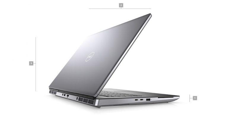 Dell Precision 7760 Boyutlar